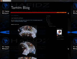 tamimilhuda23.blogspot.com screenshot