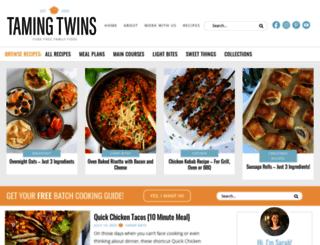 tamingtwins.com screenshot