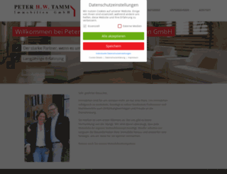tamm-immo.de screenshot