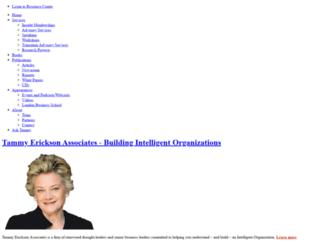 tammyerickson.com screenshot