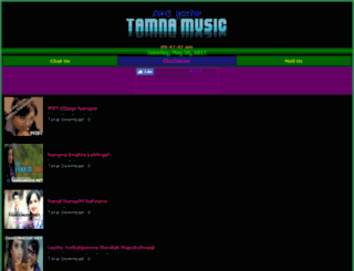 tamnamusic.net screenshot
