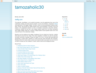 tamozaholic30.blogspot.com screenshot