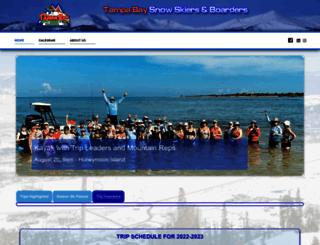 tampabaysnowskiers.com screenshot