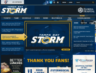 tampabaystorm.com screenshot