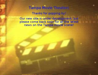 tampamovietheaters.com screenshot