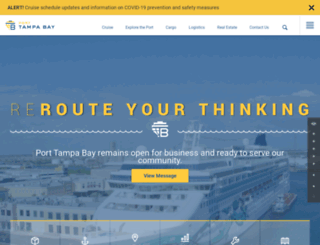 tampaport.com screenshot