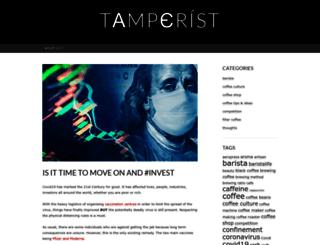 tamperist.wordpress.com screenshot