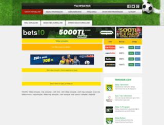 tamskor.com screenshot