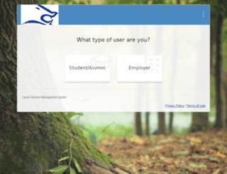 tamuk-csm.symplicity.com screenshot