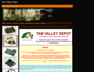 tamvalleydepot.com screenshot