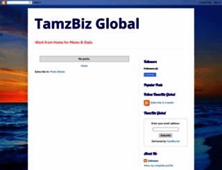 tamzbizglobal.blogspot.com screenshot