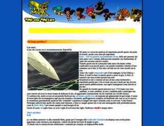 tanadelletigri.info screenshot