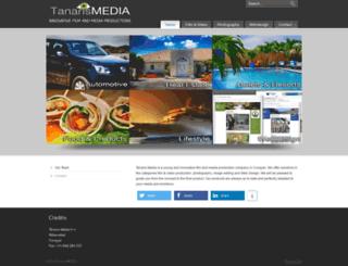 tanarismedia.com screenshot