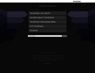 tandarts-zoeken.nl screenshot