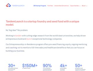 tandemlaunchtech.com screenshot