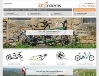 tandems.co.uk screenshot