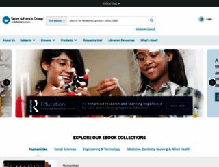 tandfebooks.com screenshot