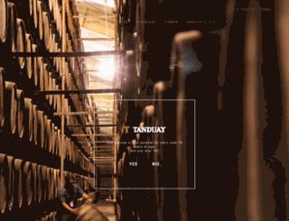 tanduay.com screenshot