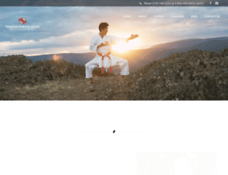 tanedakaratedojo.com screenshot