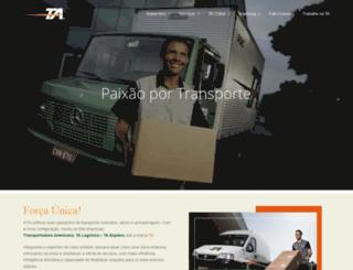 tanet.com.br screenshot
