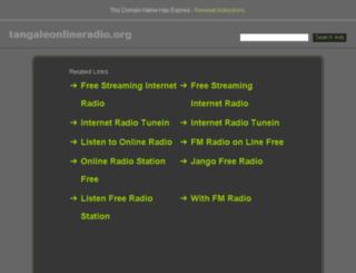 tangaleonlineradio.org screenshot
