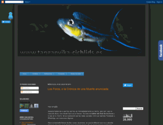 tanganyika-cichlids.blogspot.com.es screenshot