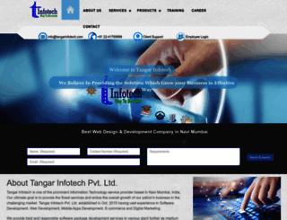 tangarinfotech.com screenshot