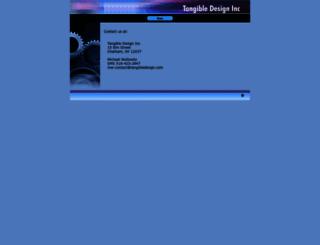 tangibledesign.com screenshot