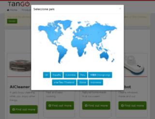 tangorobot.com screenshot