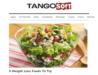 tangosoft.co.uk screenshot