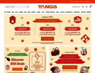 tangs.com screenshot