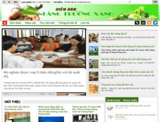 tangtruongxanh.quangnam.gov.vn screenshot