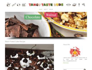 tangytastebuds.com screenshot