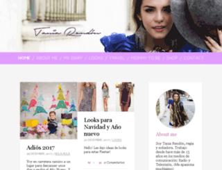 taniarendon.com screenshot