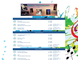 taniatuccinardi.forumfree.net screenshot