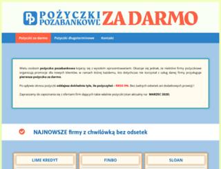 tanie-pozyczanie.pl screenshot