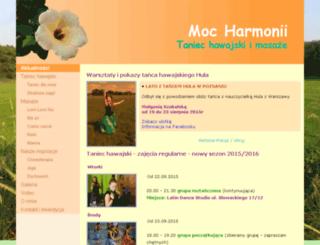 taniec-hawajski-masaze.pl screenshot