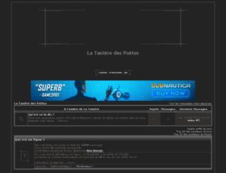 taniere.activebb.net screenshot