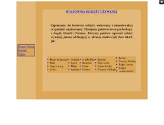 tanieubranie.friko.pl screenshot