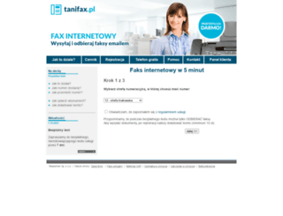 tanifax.pl screenshot