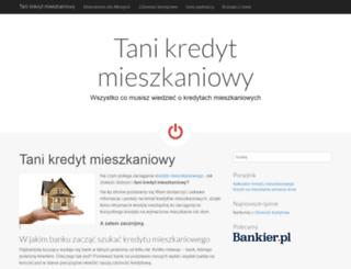 tanikredytmieszkaniowy.pl screenshot