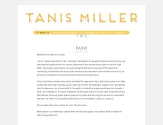 tanismiller.com screenshot