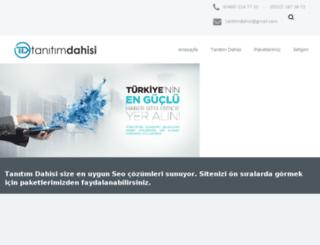 tanitimdahisi.com screenshot