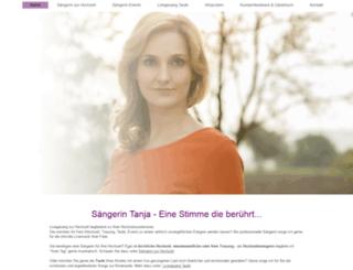 tanja-singt.de screenshot