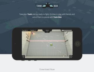 tank-box.com screenshot