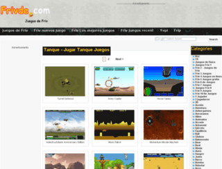 tank.frivde.com screenshot