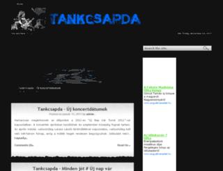 tankcsapdafan.net screenshot