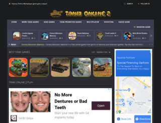 tankionline-2.com screenshot