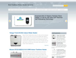 tanklesshotwaterreviews.blogspot.com screenshot