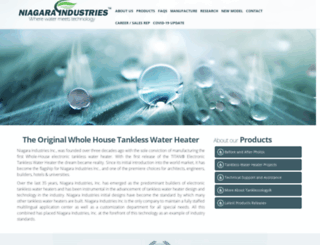 tanklesswaterheater.com screenshot
